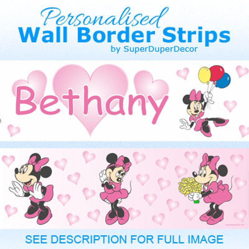 Minnie Mouse Pink Dress border