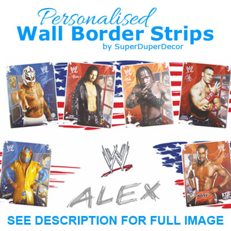 WWE 2012 border. WWE 2012 border   SuperDuperDecor com